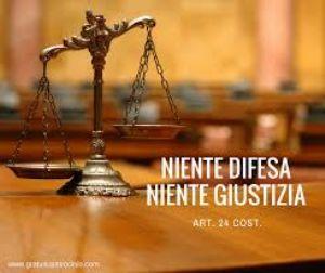 Il diritto di difesa.Diritto che garantisce tutti.