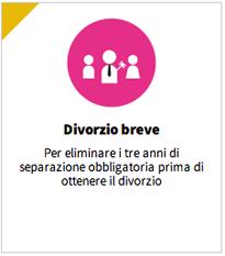 CAMERA APPROVA PROPOSTA DI LEGGE SU DIVORZIO BREVE